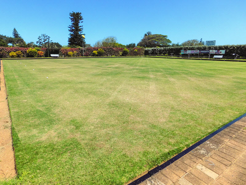 Club Closed for Green Maintenance