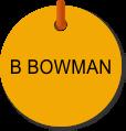 B Bowman TAB