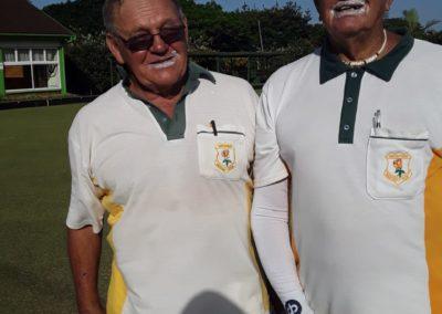 Dennis Graham and Johnny Meyer