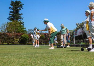 Playing on the Umtentweni Bowling Club Green 2019 (2)
