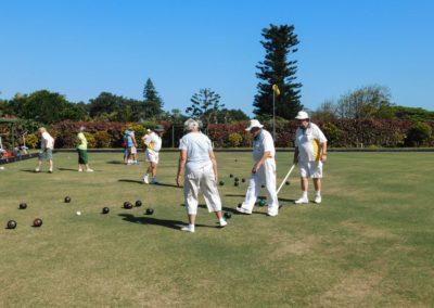 Playing on the Umtentweni Bowling Club Green 2019 (3)
